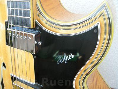 Archtop Guitar Hoefner 471 Musik Intrumente Rosenheim - Kunst-Ruenagel-de29