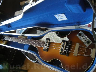 Beatles Bass Guitar Hoefner 500-1 Musik Intrumente Rosenheim - Kunst-Ruenagel-de104