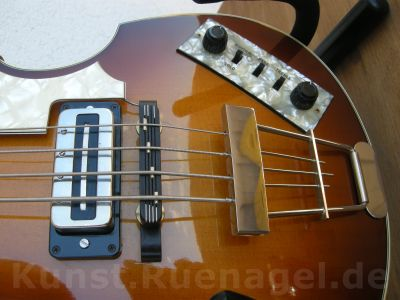 Beatles Bass Guitar Hoefner 500-1 Musik Intrumente Rosenheim - Kunst-Ruenagel-de86