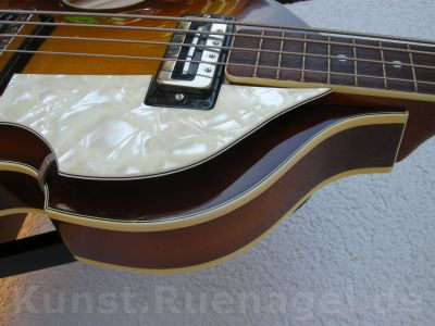 Beatles Bass Guitar Hoefner 500-1 Musik Intrumente Rosenheim - Kunst-Ruenagel-de88