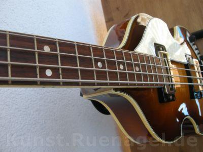 Beatles Bass Guitar Hoefner 500-1 Musik Intrumente Rosenheim - Kunst-Ruenagel-de90