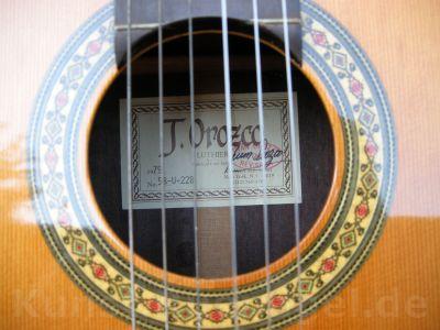 Guitar Juan Orozco Luthier Vintage New York 1979 Musik Intrumente Akkustik Gitarre Rosenheim - Kunst-Ruenagel-de139