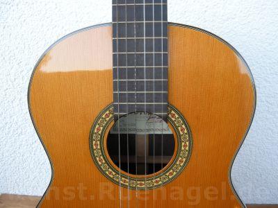 Guitar Juan Orozco Luthier Vintage New York 1979 Musik Intrumente Akkustik Gitarre Rosenheim - Kunst-Ruenagel-de149