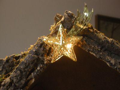 WeihnachtsKrippe-und-HolzFiguren--Stern-DSCN1029